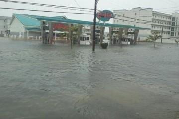 Hurricane Sandy North Wildwood NJ 2012