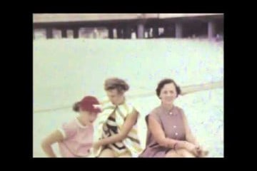 Wildwood Beach 1950s Home Video