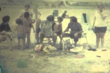 Wildwood New Jersey Home Video 1974