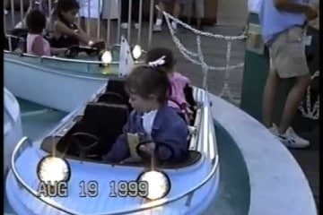 Morey's Piers Boat Ride 1991 Wildwood
