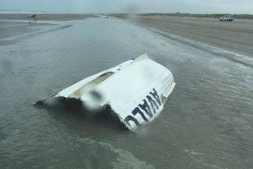 High Winds Split Lifeguard Boat In Avalon