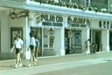 Wildwood Tram Car Ride 1983