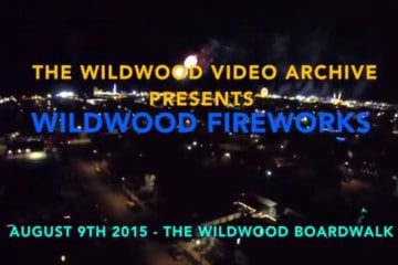 Wildwood Fireworks Wildwood New Jersey Drone