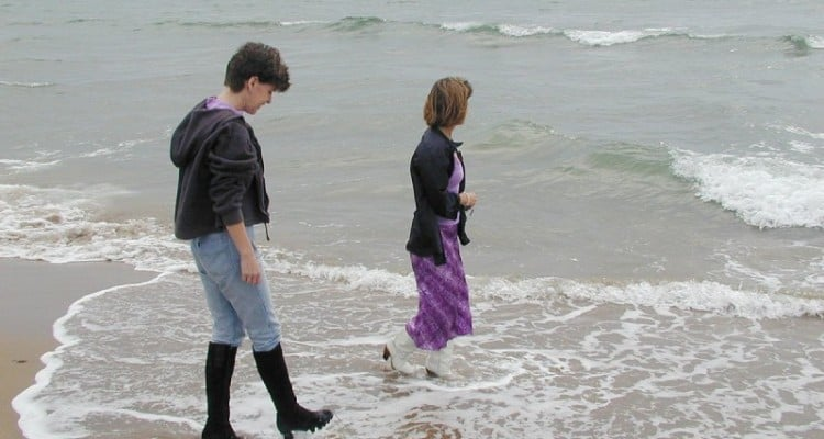 Boots at the Beach