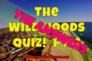 The Wildwoods Quiz Answers Pt. 1. !