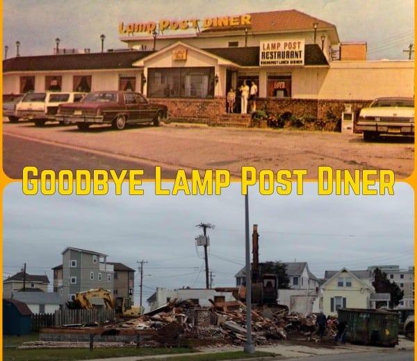 GoodBye Lamp Post Diner - Wildwood Video Archive