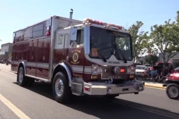 Wildwood New Jersey State Firemen's Memorial Parade