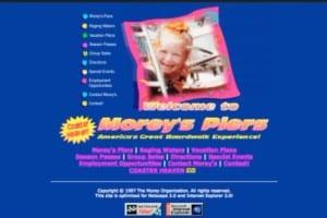 Moreys Piers Website
