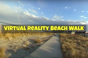 Virtual Reality Wildwood Beach Walk
