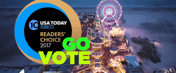 Vote Wildwood Boardwalk #1 In USA Today