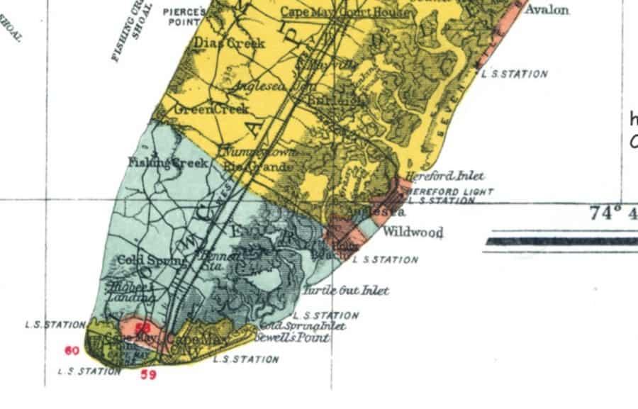Anglesea North Wildwood 1906