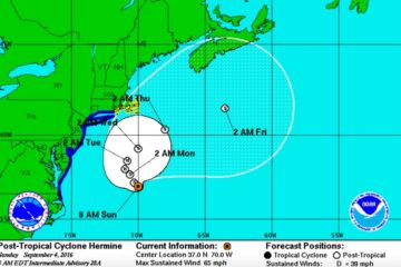 Tropical Cyclone Hermine UPDATE (10AM)
