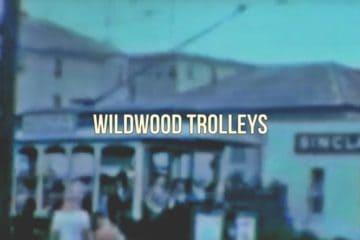 Wildwood NJ Rare Trolley Car Footage