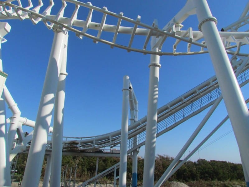 """Morey's Pier's """"Great Nor'Easter"""" roller coaster"""