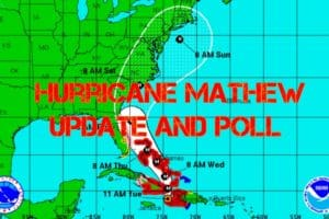 Hurricane Mathew Update and Poll (Wildwood Weather)