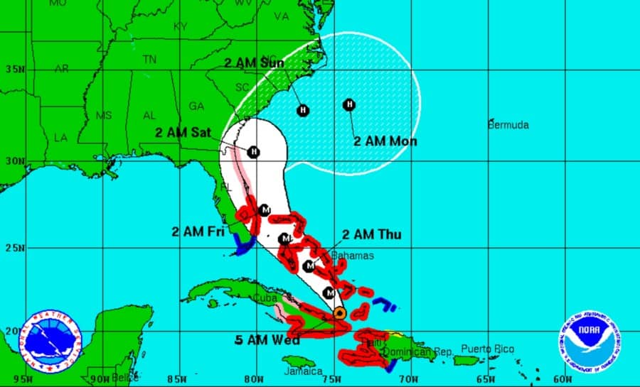 Hurricane Mathew (Wildwood Weather) Wednesday Update