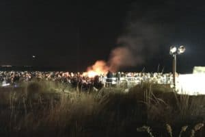 North Wildwood Bonfire