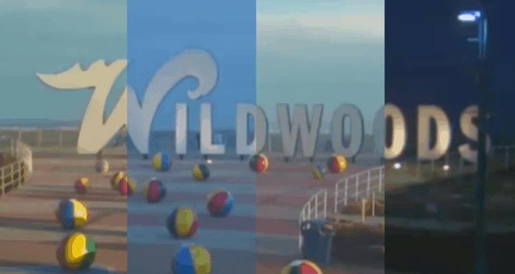 Wildwood Sign Time Lapse