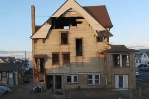 Drone Video of N. Wildwood House Demolition