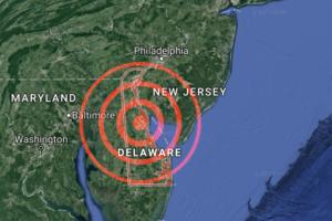 4.4 Magnitude Earthquake Felt