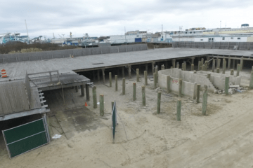 Seaport Pier Announced Update (Drone)