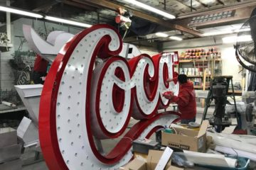 Coca-Cola Sign Update!