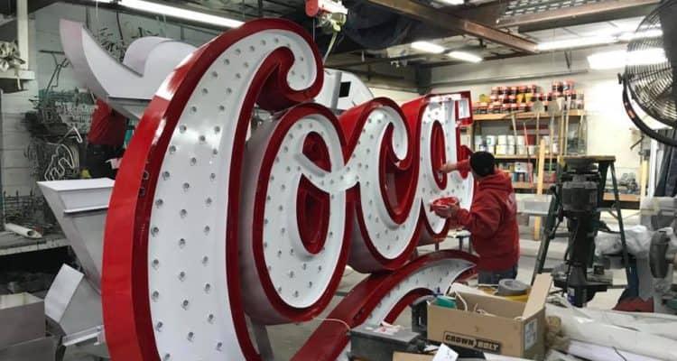Coca-Cola Sign Update!