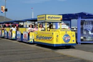Wildwood Boardwalk Tram Car