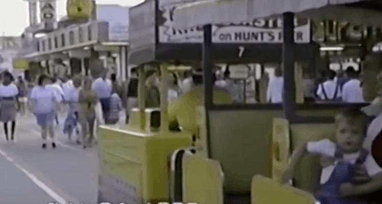 Wildwood Boardwalk in June 1990