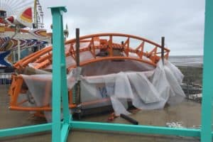 Wildwood Coaster Construction