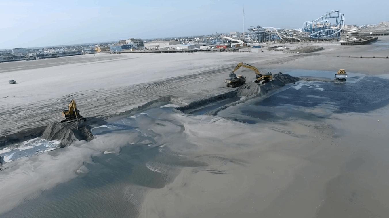 Saving North Wildwood's Beaches 2018