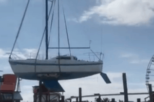 Beached Boat's Mystery Fate Finally Revealed