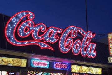 Relighting The Coca-Cola Sign