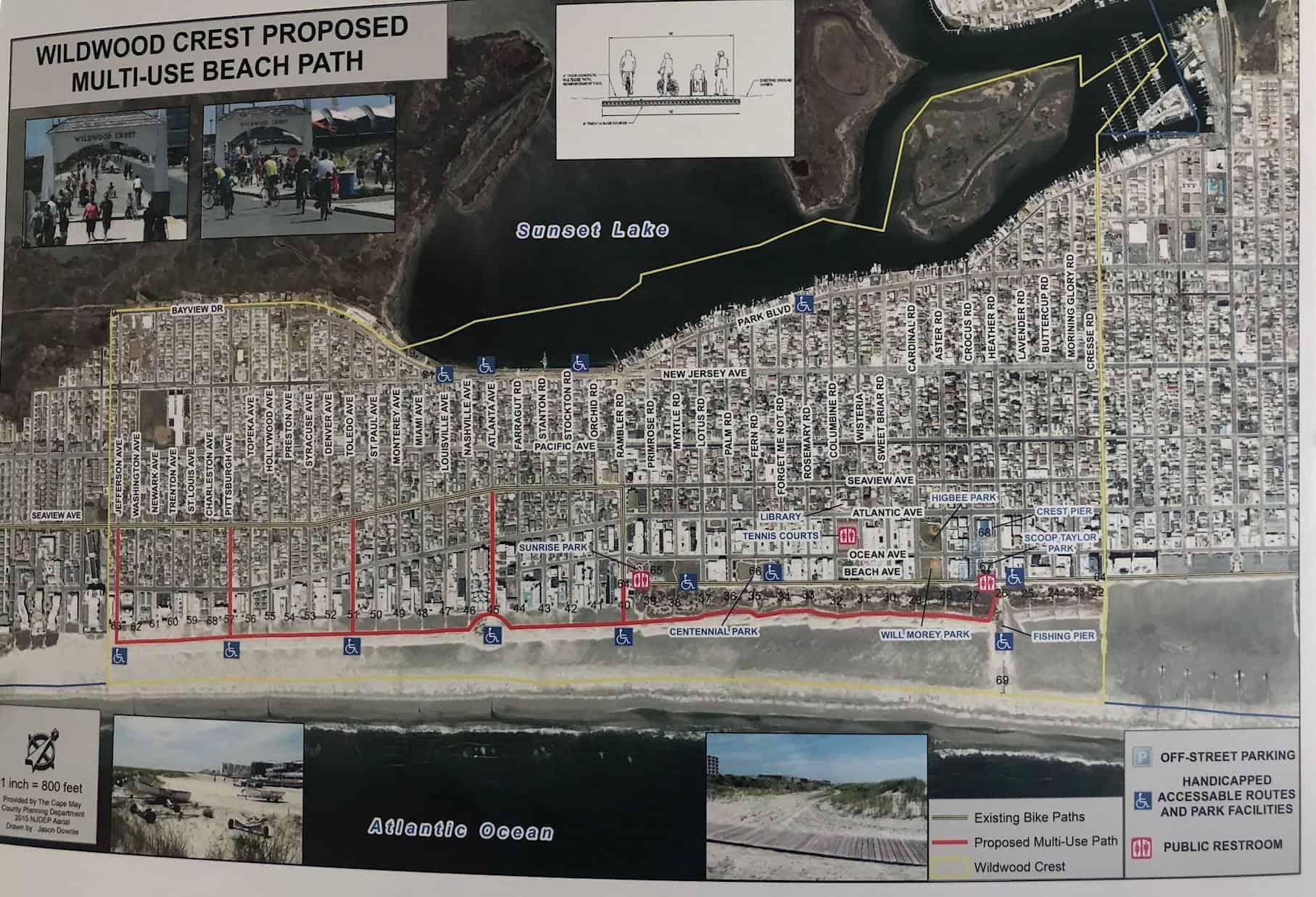 NEW Proposed Multi-Use Beach Path!
