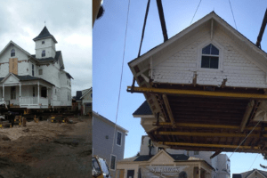 Moving A Historic House To Cape May
