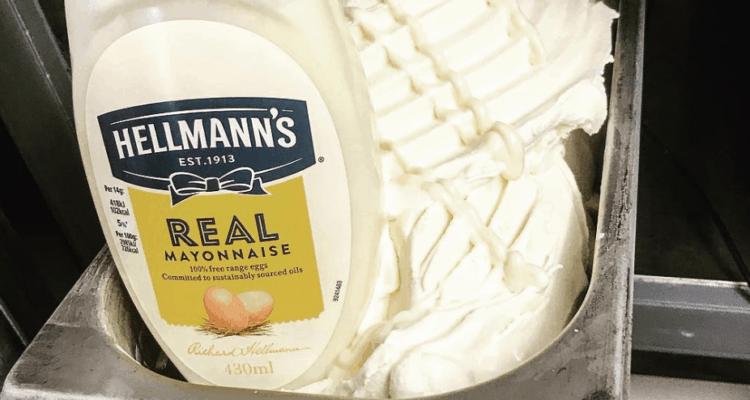 Mayonnaise Ice Cream