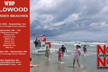 Wildwood Beach Patrol Announces Ending Dates