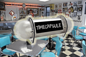 Cool Scoops To Bury Time Capsule