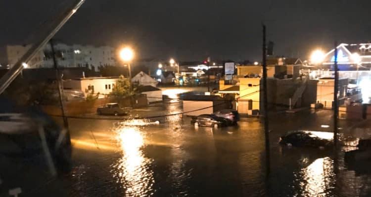 Flooding Around Wildwood
