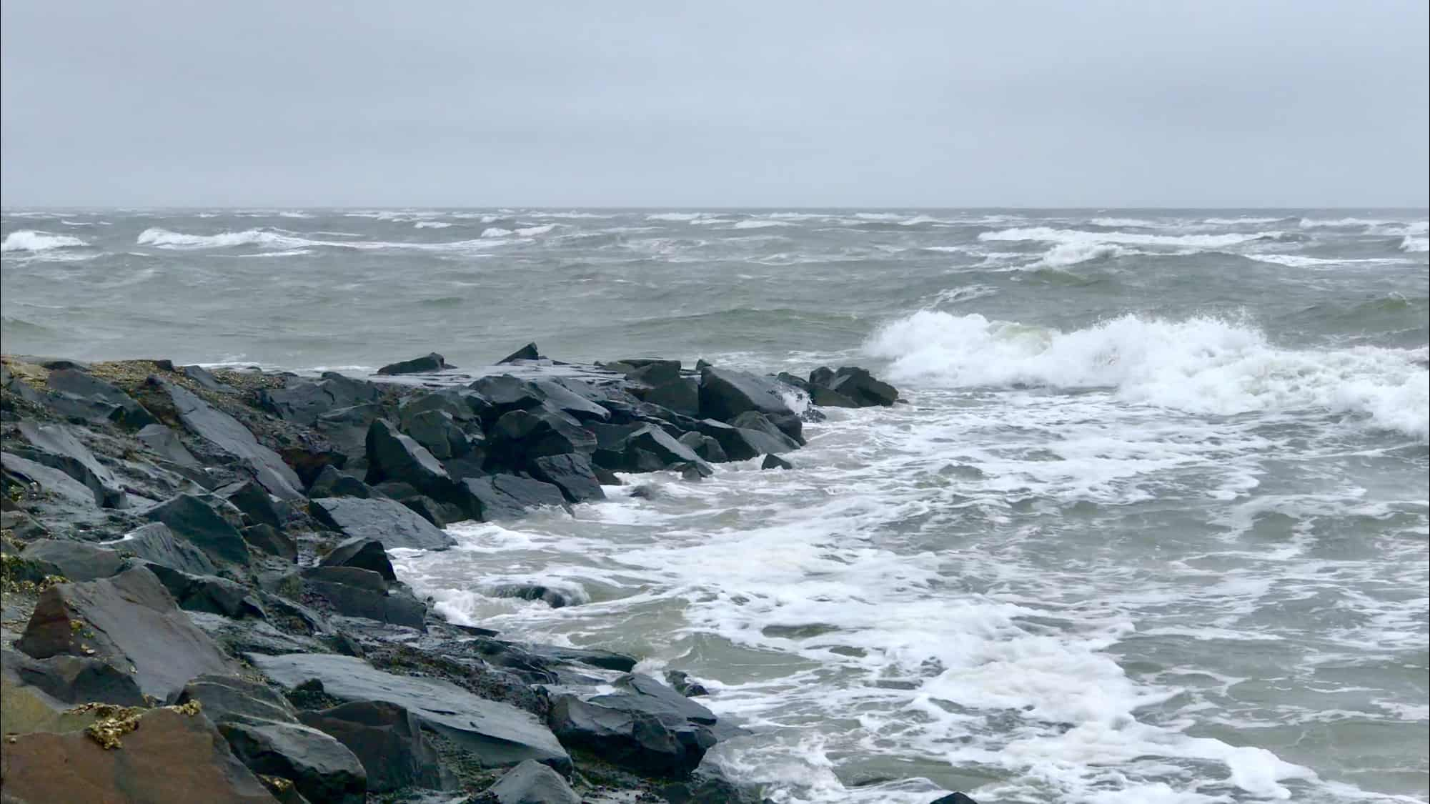 Experience The Angry Wildwood Waves In 360