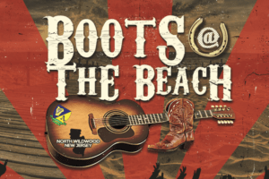 """The Country Music Festival, """"Boots at the Beach,""""is coming back to Wildwood for their 4th season!"""