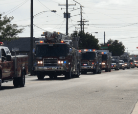 Fireman's Parade Wildwood New Jersey 2018