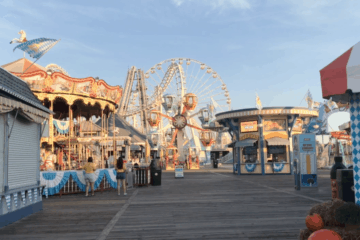 Morey's Piers Is Closed For The Season