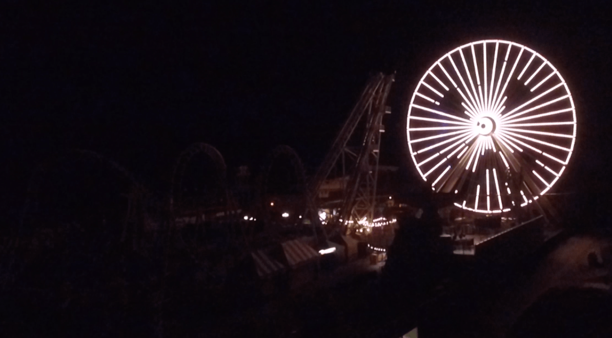 A Spooky Wildwood Ferris Wheel