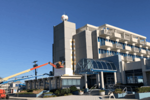 Morey's Pan American Hotel Gets Face Lift