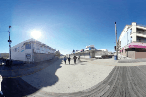 Walk The Wildwood Boardwalk in 360