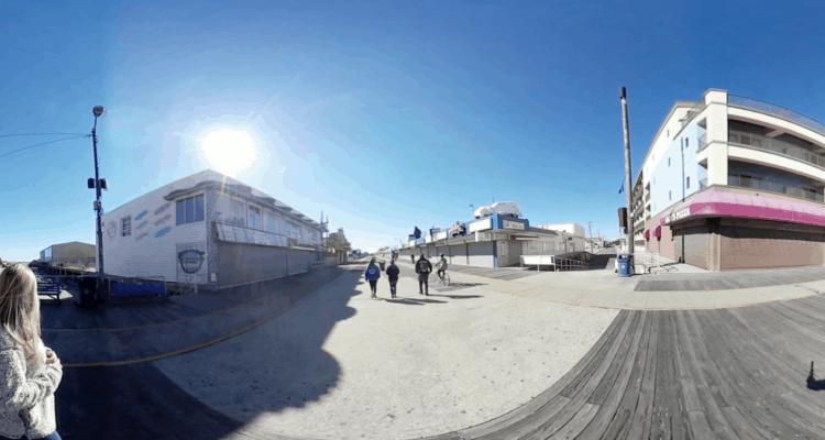 Walk The Wildwood Boardwalk in 360