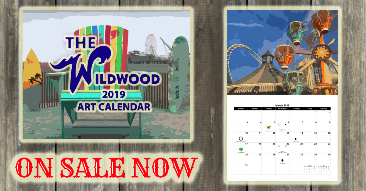 2019 Wildwood Art Calendar On Sale Now