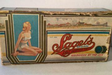 1940's Saltwater Taffy Box Found
