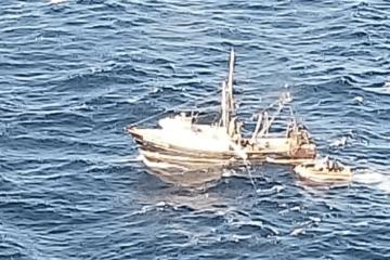 The Coast Guard Saves Fishing Crew